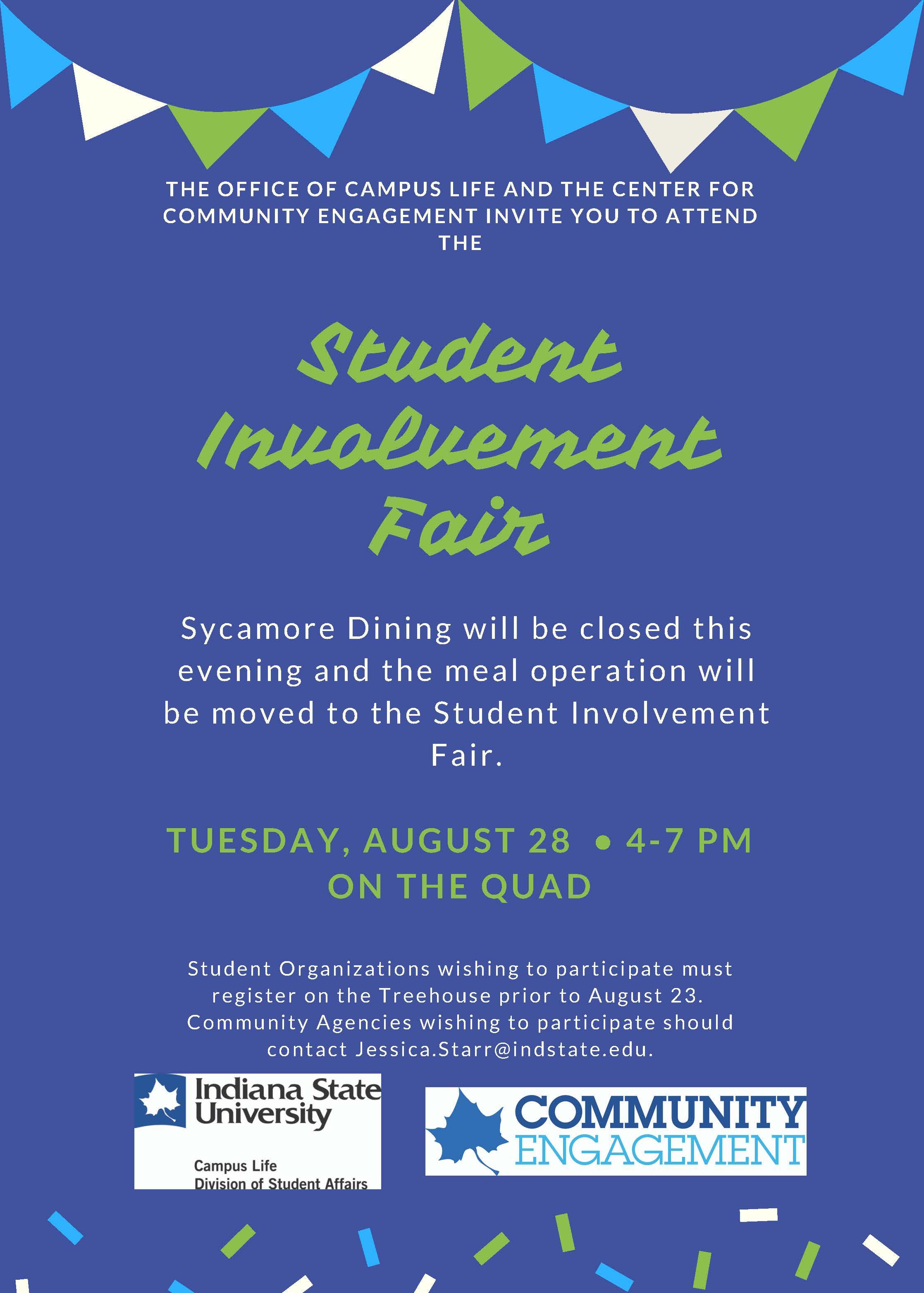 Fall 2018 Student Involvement Fair