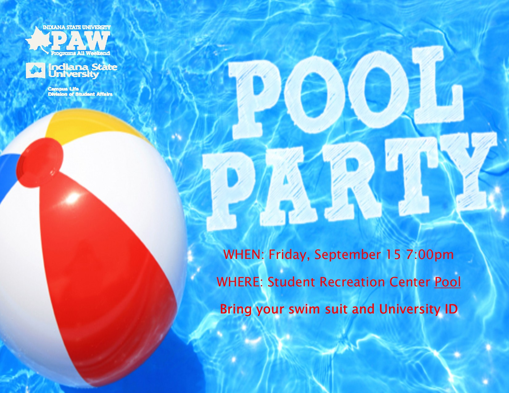 PAW Pool Party
