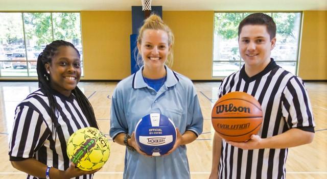 Intramurals Referees Campus Rec Student Jobs