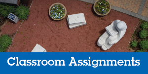 Faculty Classroom Assignments