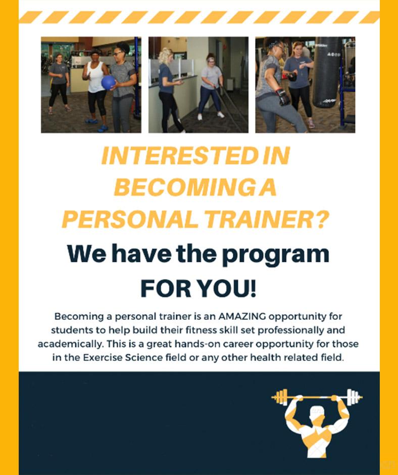 Personal Training Program Aug2019
