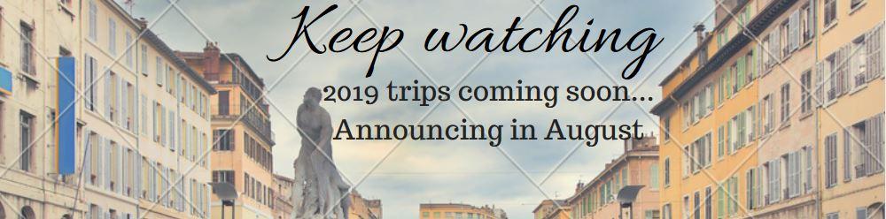 2019 trips
