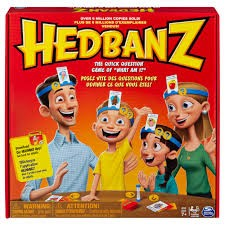 Hedbanz, Quick Question Family Guessing Game for Kids and Adults ...