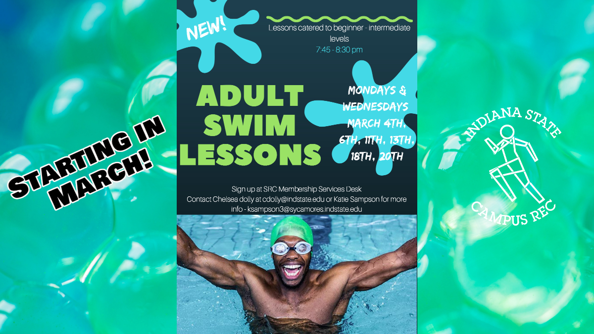 Adult Learn to Swim lessons Spring 2019