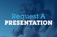 Request a Presentation button