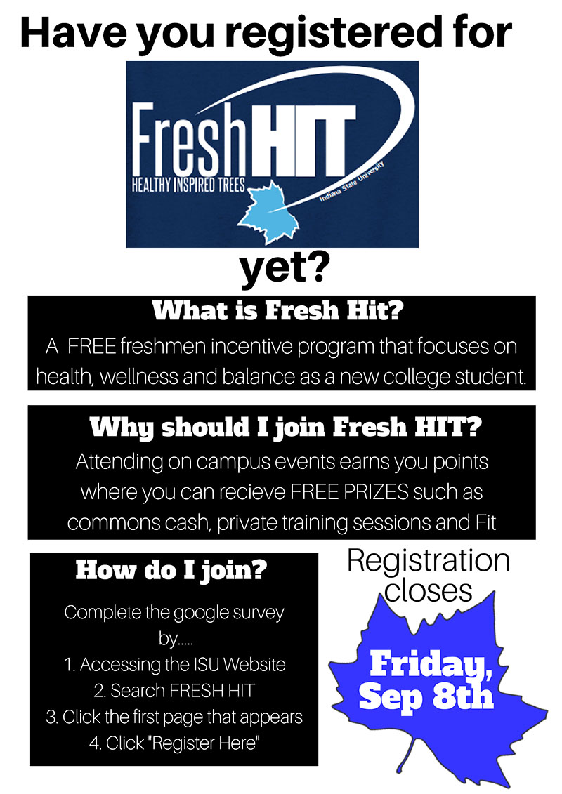 Sign up for Fresh HIT 2017