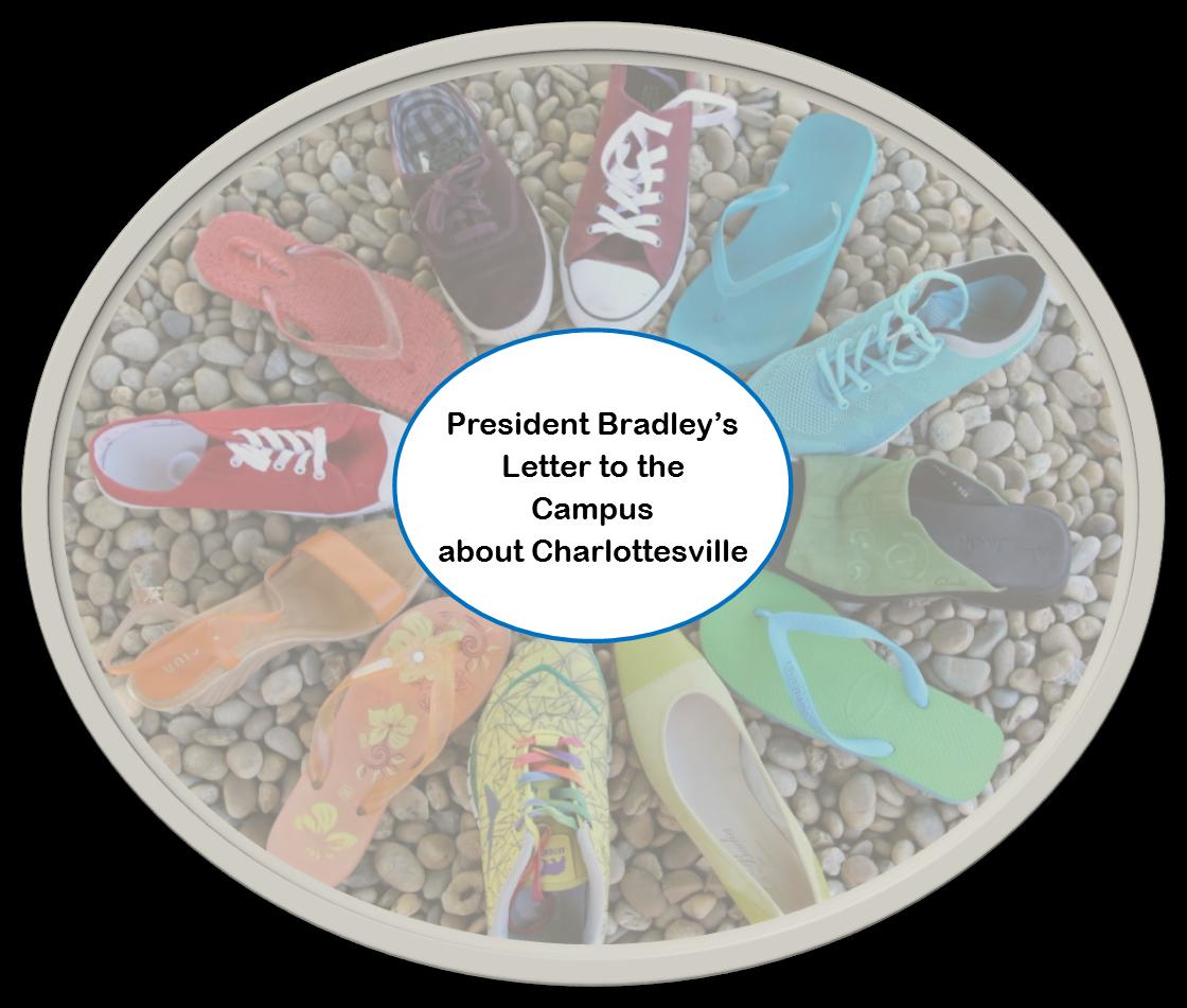 President Bradley response to Charlottesville Aug 2017