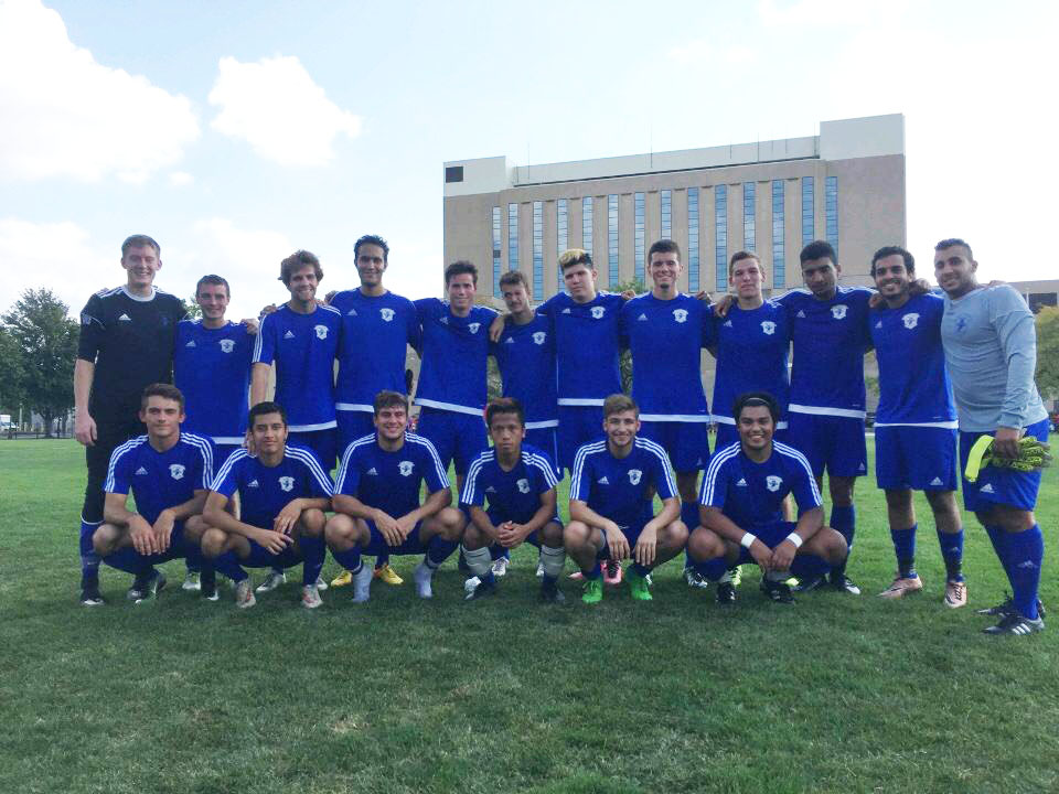ISU Club Sports Men's Soccer Team 2018