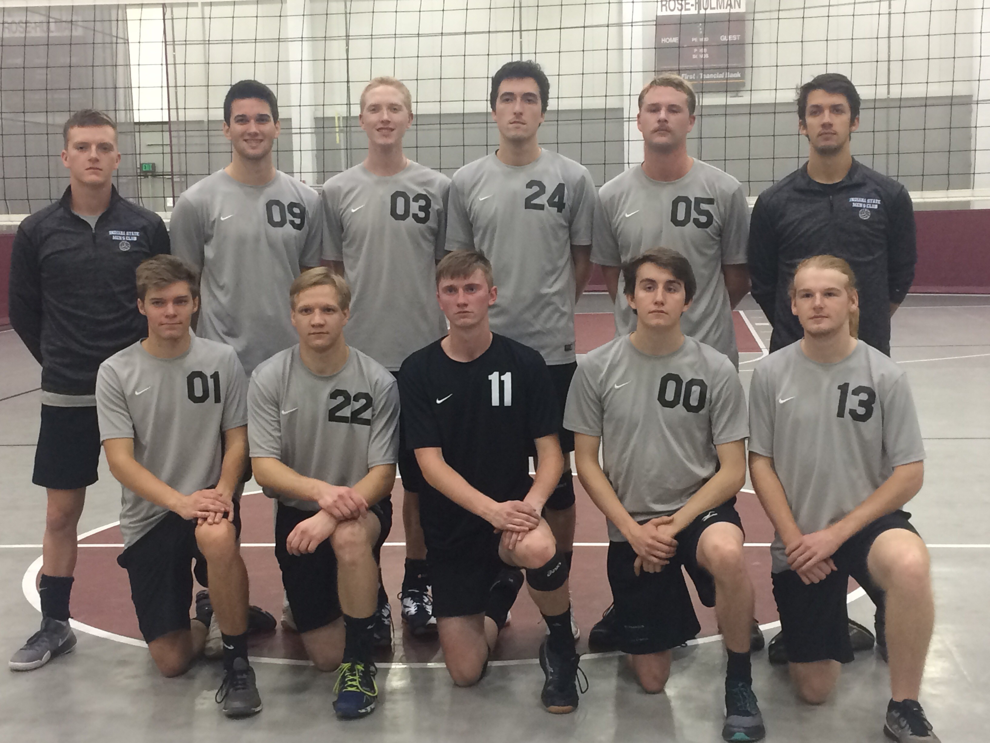 ISU Club Sports Men's Volleyball Team 2018