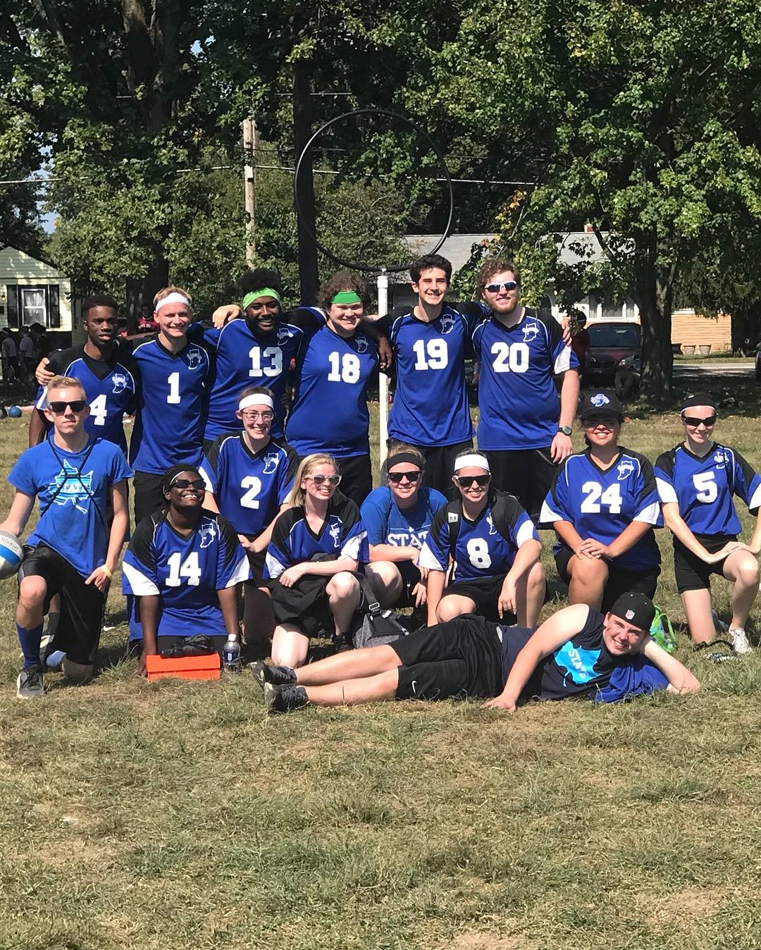 ISU Club Sports Quidditch Team 2017