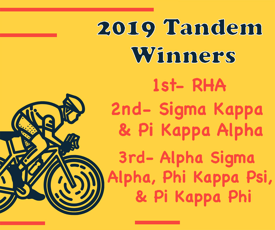 Tandem 2019 Winners