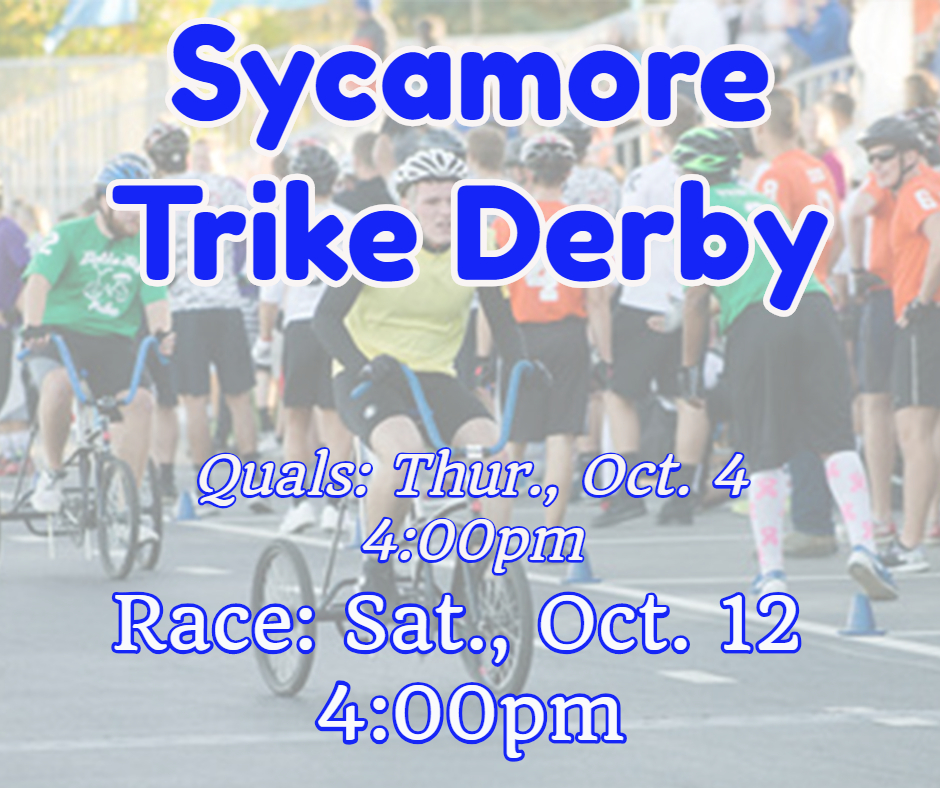 Sycamore Trike Race info 2018