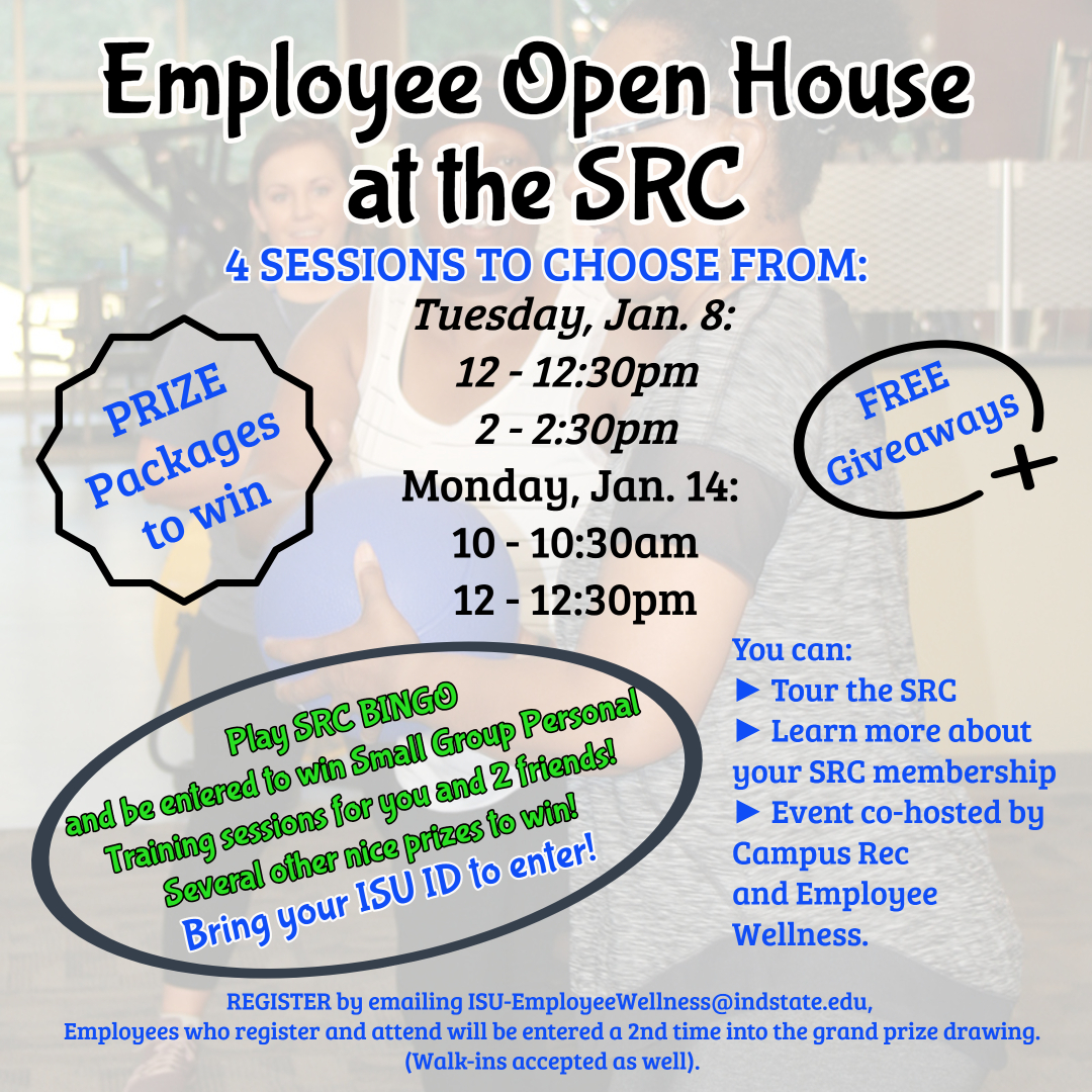 Wellness Open Houses at SRC January 2019