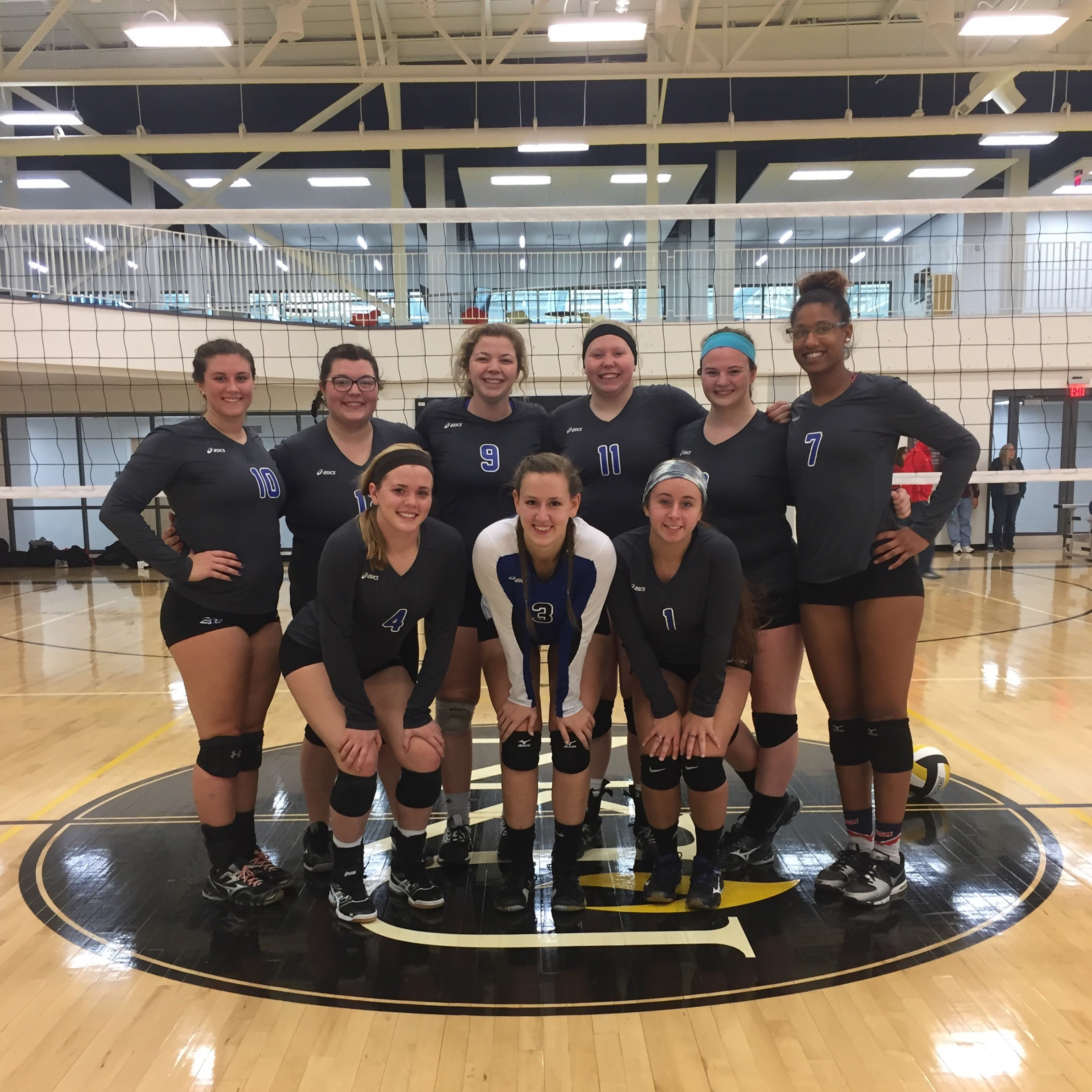 ISU Club Sports Women's Volleyball 2018