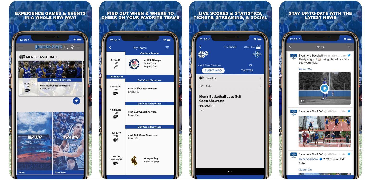 Sycamore Athletics March On App