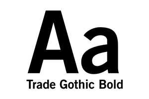 Trade Gothic Bold