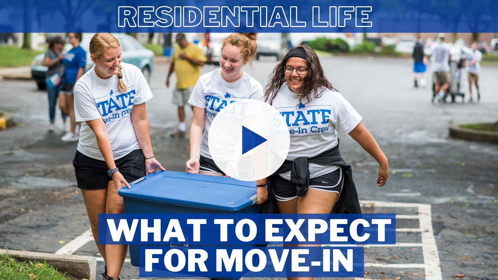 What to Expect for Move-In (Residential Life)