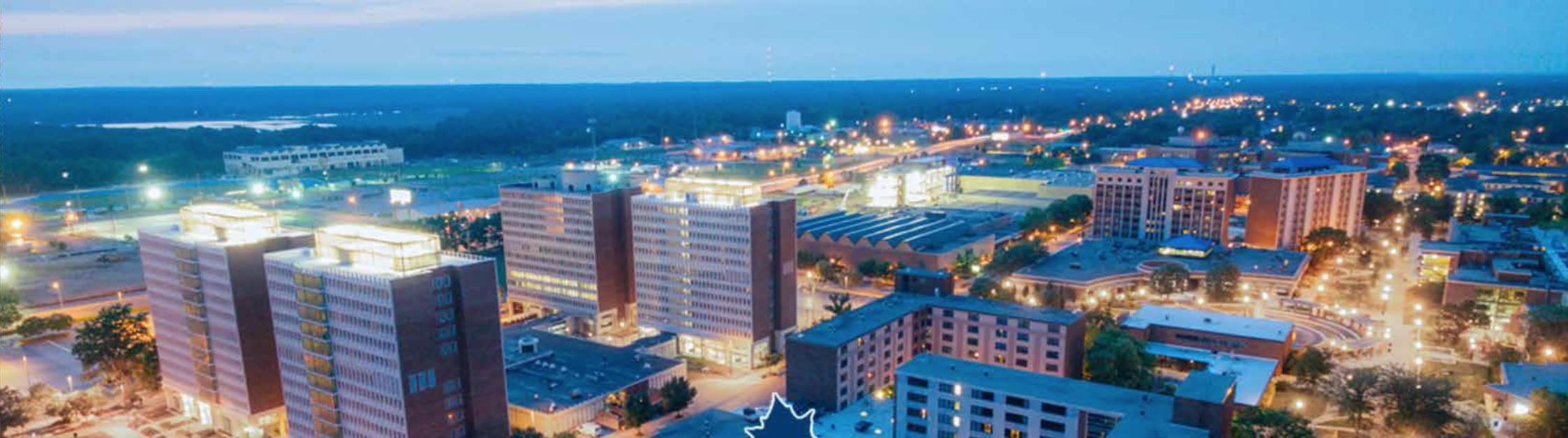 Terre Haute cityscape