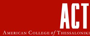 American College of Thessaloniki Logo