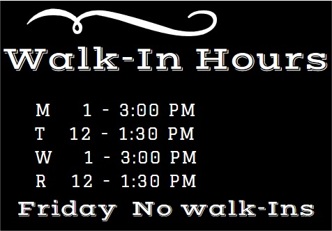 Walk In Hours