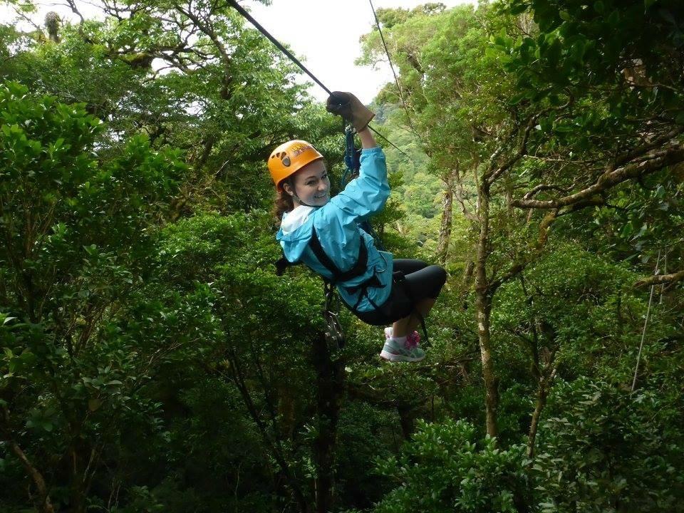 Kaylee - Ziplining