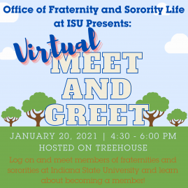 Flyer for FSL Meet and Greet