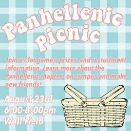 Event Flyer for Panhellenic Picnic