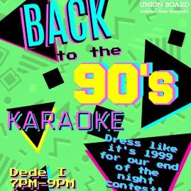 90's Karaoke Flyer