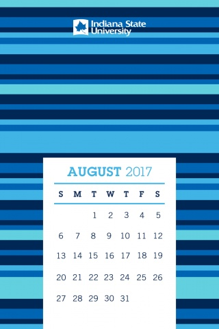 Indiana State University Mobile Background August 2017