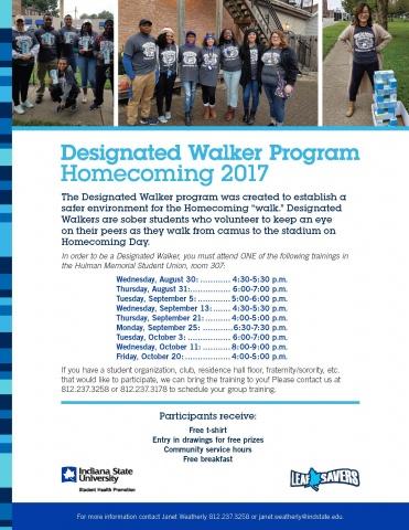 Designated Walker Flier