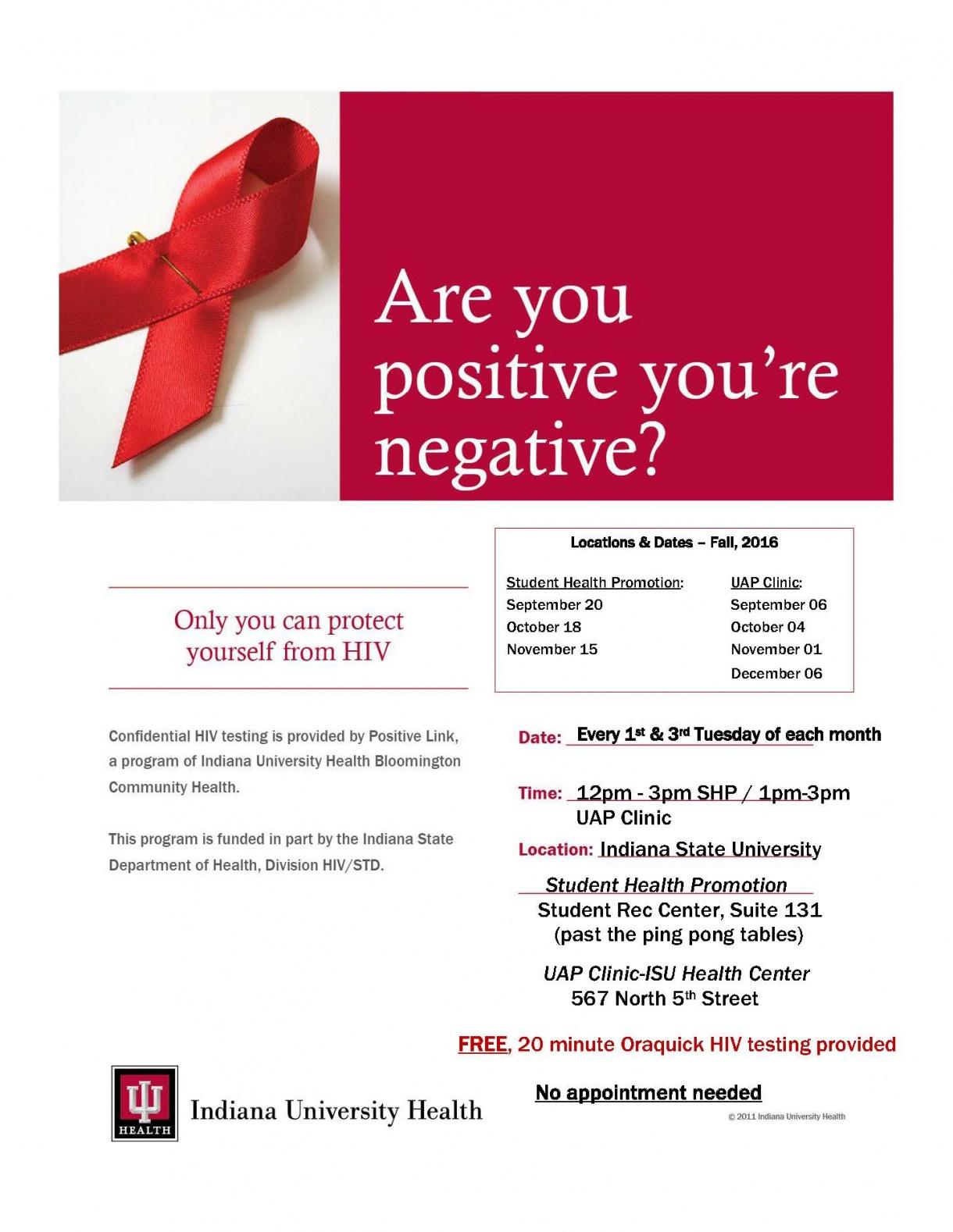 Positive Link flyer
