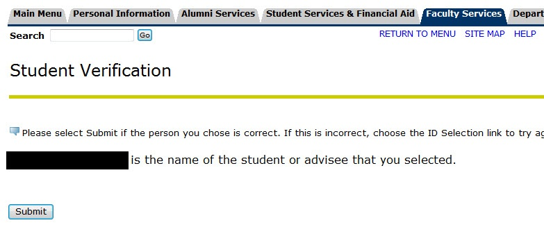 Student Verification