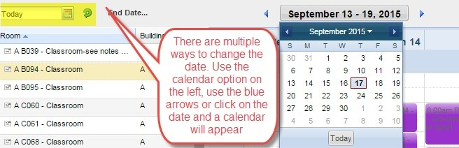 Scheduling Grid - Changing Views