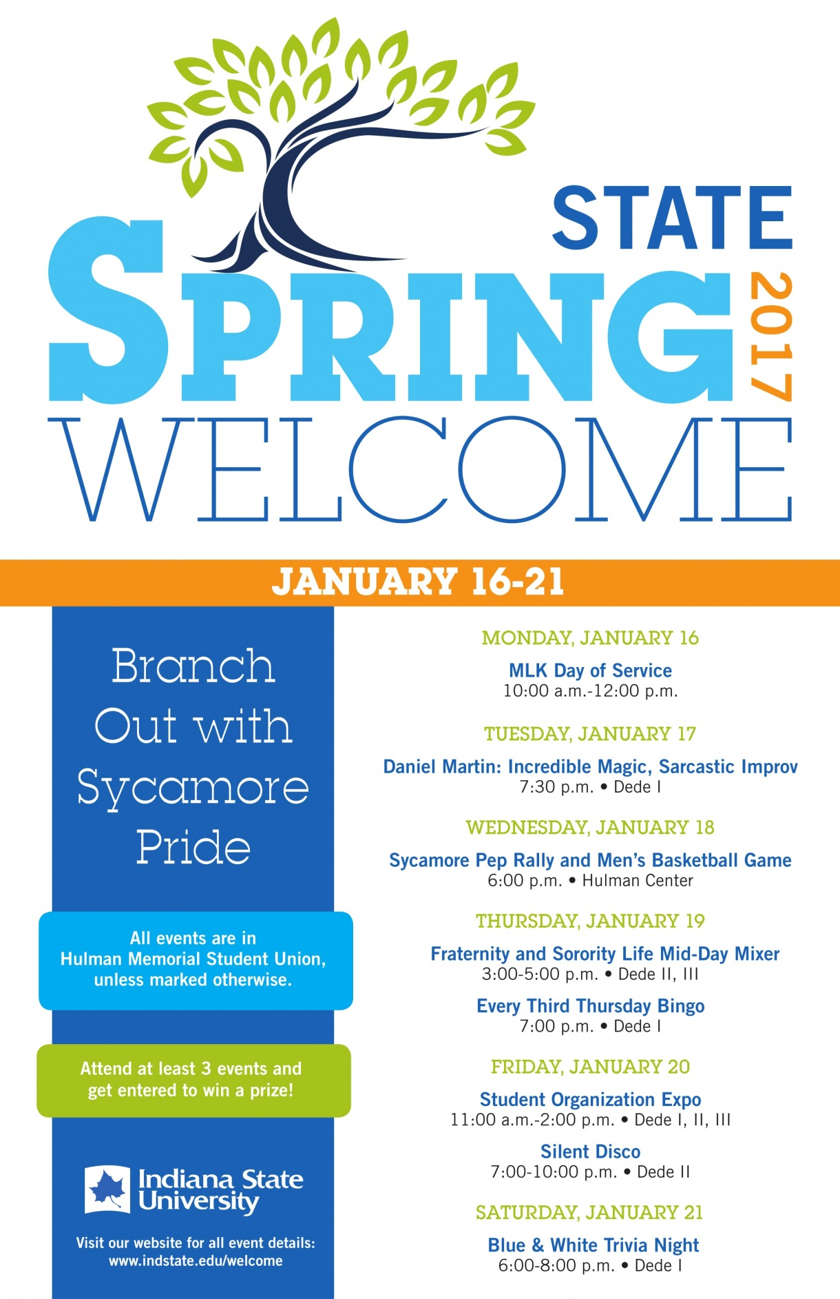 Spring Welcome Poster