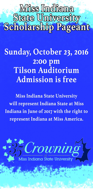 Miss ISU 2016 Flyer