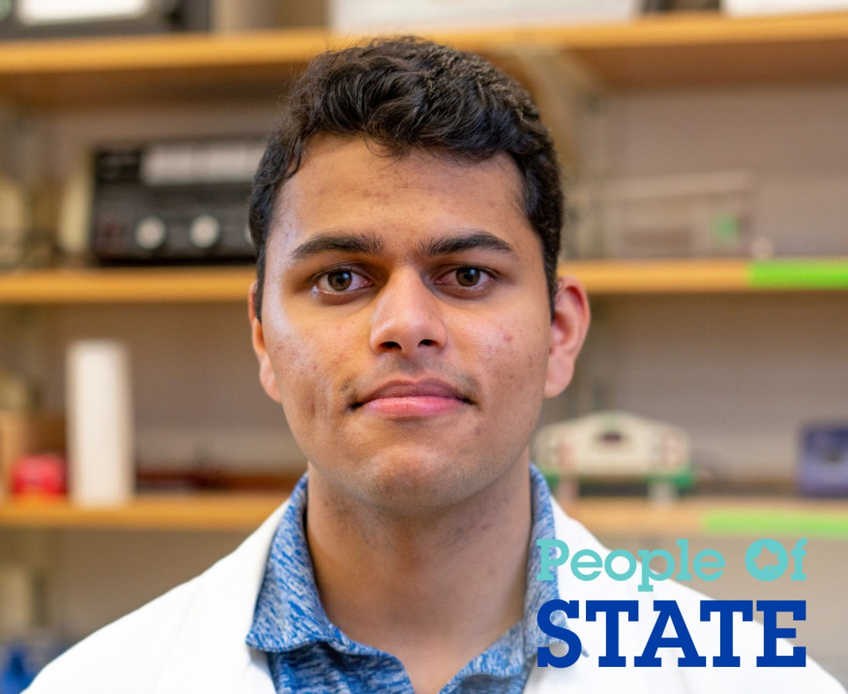 People of STATE: Tejas Kandharkar