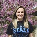 Ashley Morgan, Honors Peer Mentor