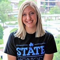Lindsey Cowan, Honors Peer Mentor