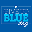 Give to Blue Day is Wednesday, March 13