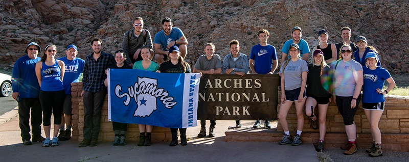 President's Scholars at Arches National Park