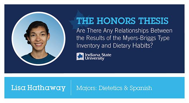 Honors Thesis: Lisa Hathaway