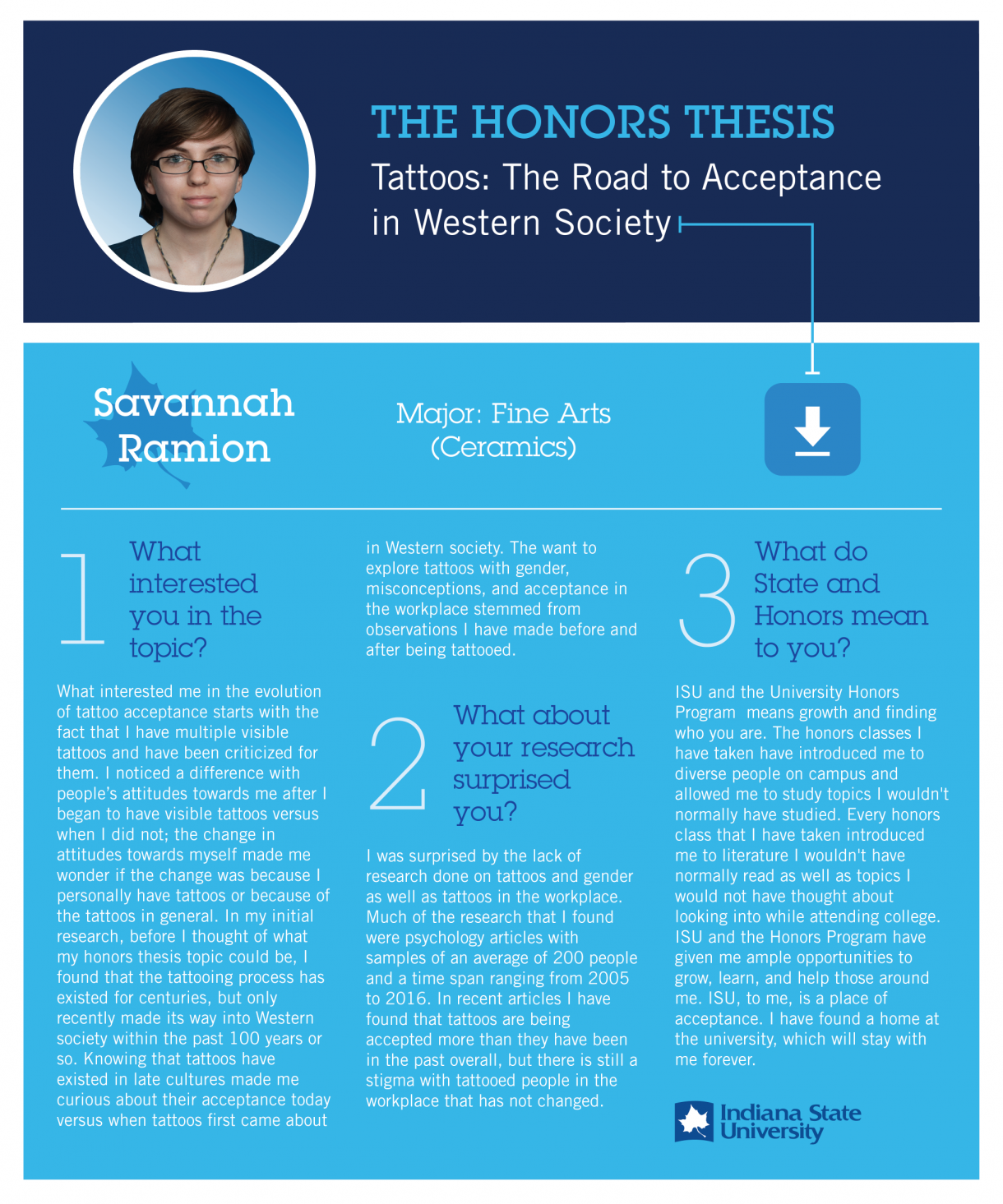 Honors Thesis: Savannah Ramion