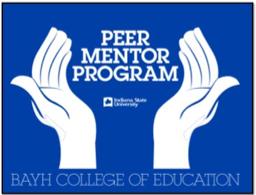 Bayh College of Education Peer Mentor Program logo