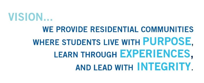 We provide residential communiteies where students live with purpose, learn through experiences, and lead with integrity
