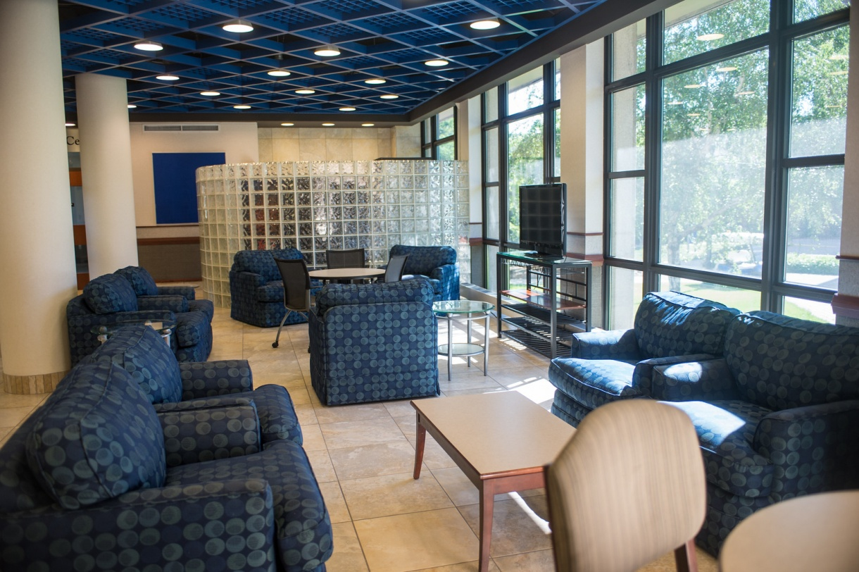 Indiana State University Sandison Hall Lobby