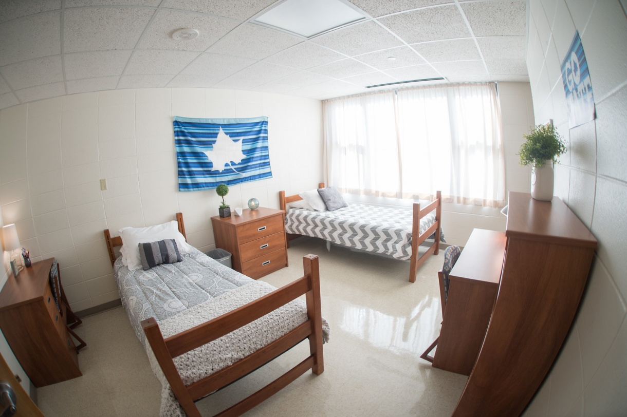 Indiana State University Sandison Hall Student Room
