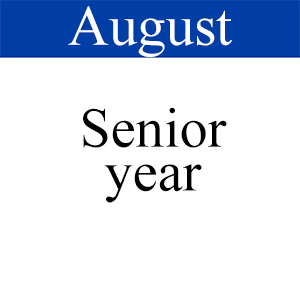 August Senior Year, Path to Graduation, Student Success