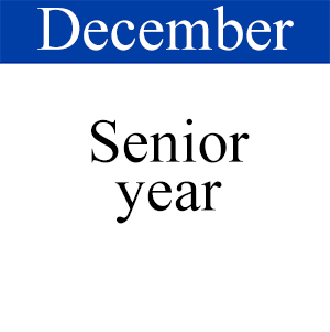 December Senior Year, Path to Graduation, Student Success