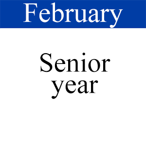 February Senior Year, Path to Graduation, Student Success