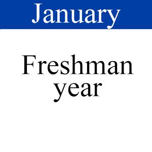 January Freshman Year